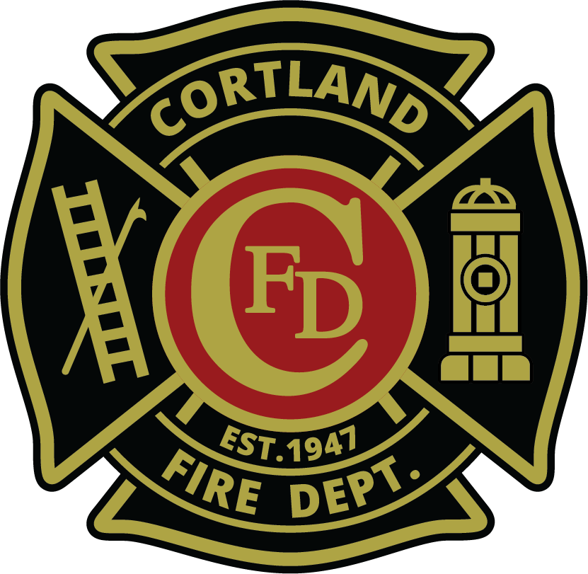 Cortland Fire Department Logo